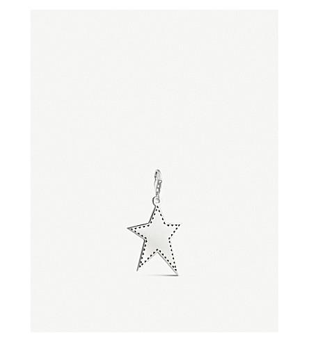 THOMAS SABO Irregular star sterling silver charm