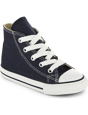 CONVERSE All Star canvas high tops 7 years