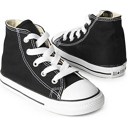 CONVERSE High top All–Star trainers 2-11 years (Black