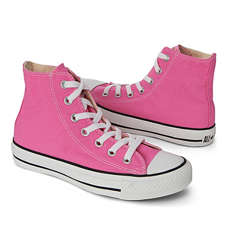 CONVERSE High top All–Star trainers 2-11 years (Pale+pink