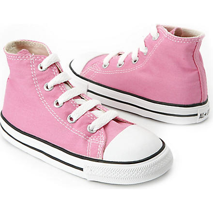 CONVERSE High top All–Star trainers 2-11 years (Pink