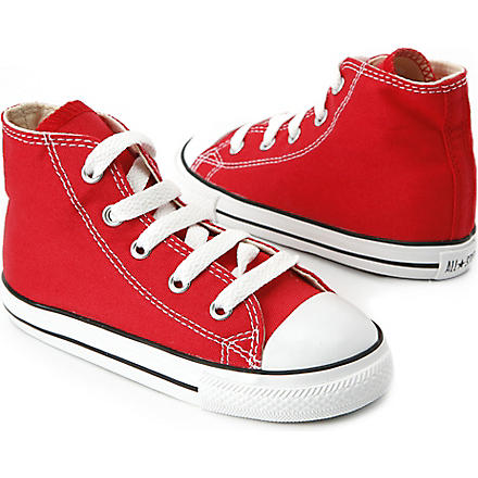 CONVERSE High top All–Star trainers 2-11 years (Red