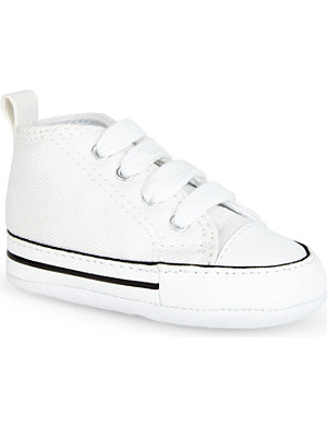 CONVERSE Crib all-star unisex trainers 0-6 months
