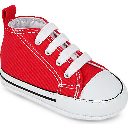 CONVERSE Crib All–Star trainers 6 months - 1 year (Red