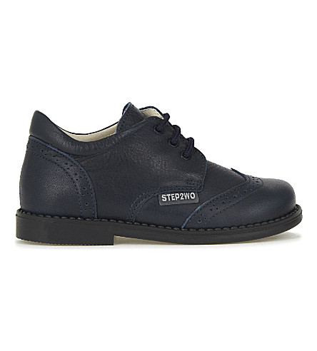 STEP2WO Lord leather shoes 4-12 years (Navy