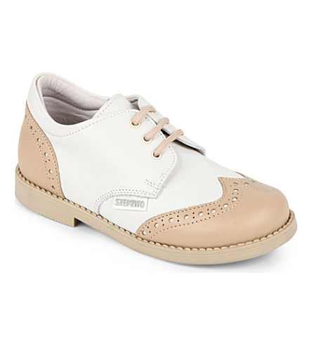 STEP2WO Lord shoes 1-7 years (Beig+white+lthr