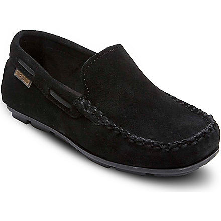 STEP2WO Brad loafers 6-12 years (Black+suede