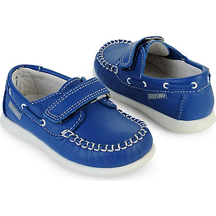 STEP2WO Mini Remi shoes 1- 4 years (Blue+leather