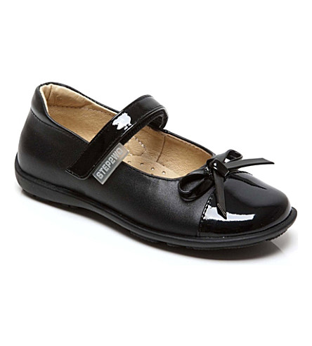 STEP2WO Lonnie shoes 4-9 years (Black+leather