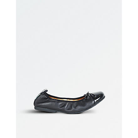 STEP2WO Lorena shoes 7-10 years (Black+leather