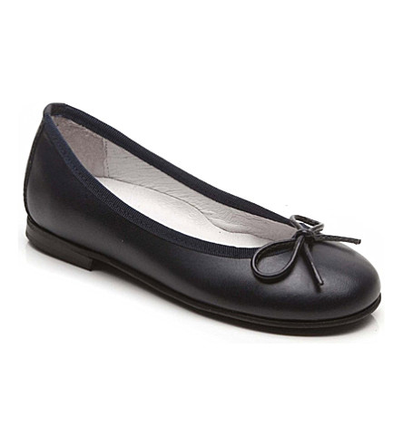 STEP2WO Ballet shoes 6-10 years (Navy+leather