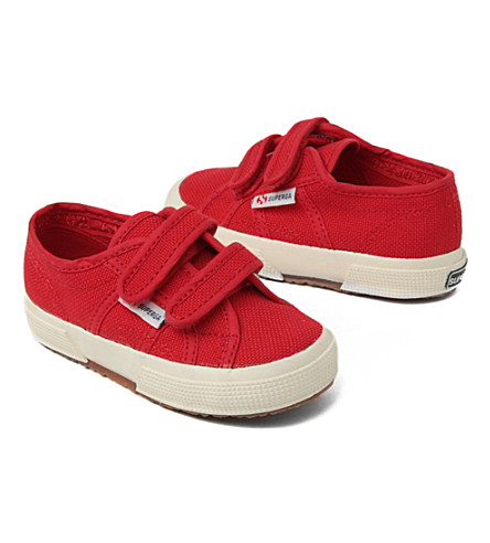 SUPERGA Superga 2750 jvel Classic unisex trainer 2-9 years (Red