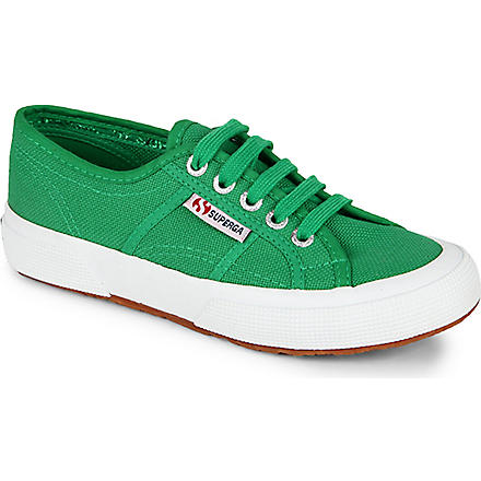 SUPERGA Jcot unisex classic trainers 3-11 years (Green