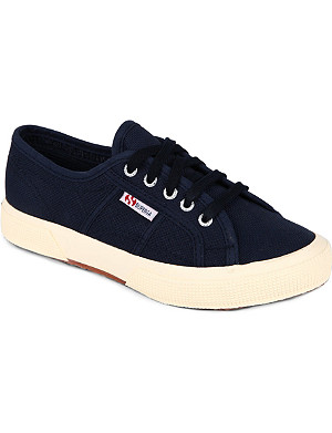 SUPERGA Jcot unisex classic trainers 3-11 years