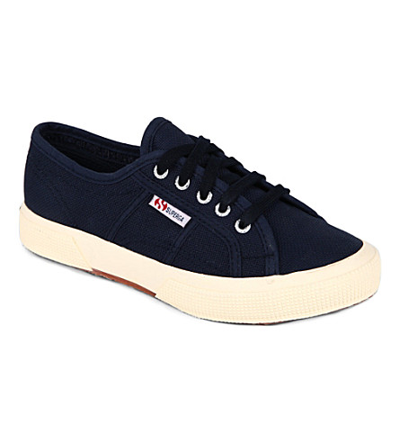 SUPERGA Jcot unisex classic trainers 3-11 years (Navy