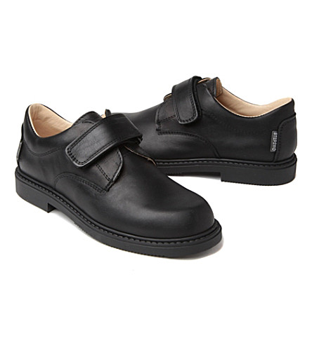 STEP2WO Matthew school shoes (Black leather