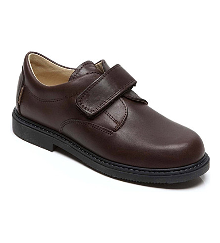 STEP2WO Matthew school shoes (Brown+leather