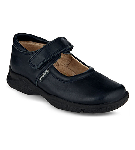 STEP2WO Jodie school shoes (Black