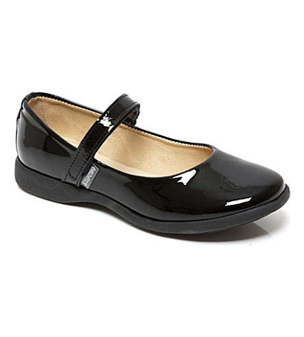 STEP2WO Annie school shoes 6-12 years (Black+patent