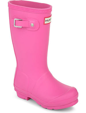 HUNTER Original unisex wellies 6-9 years