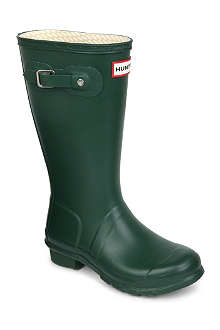 HUNTER Unisex wellington boots 7-8 years