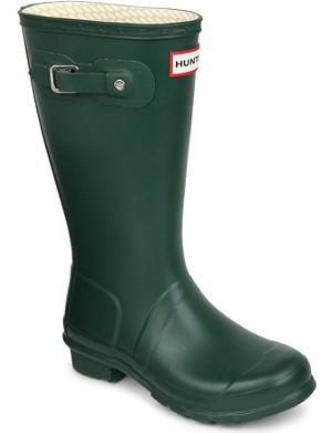 HUNTER Unisex wellington boots 7-8 years