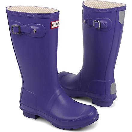 HUNTER Original wellies (Purple