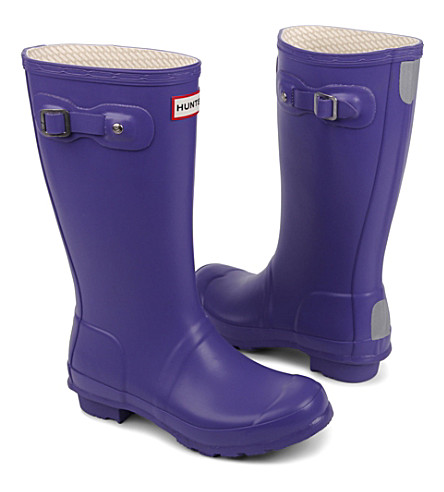 HUNTER Original wellies (Purple