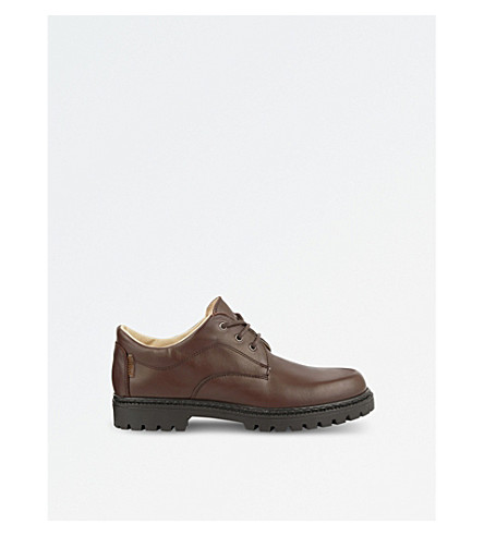 STEP2WO Bruton leather school shoes (Brown+leather