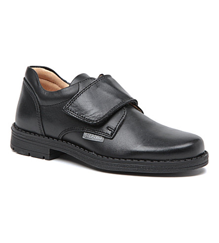 STEP2WO Catcher school shoes 4-11 years (Black+leather