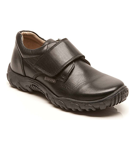 STEP2WO Jagger shoes 1-10 years (Black+leather