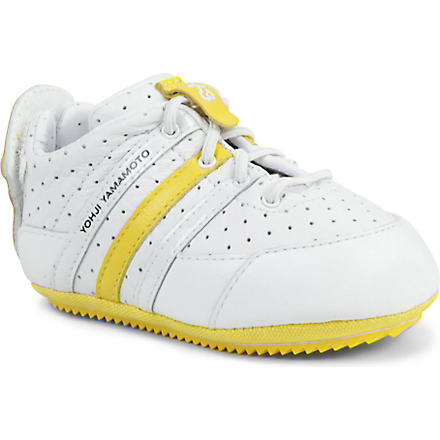Y3 Perforated trainers 6 months (White