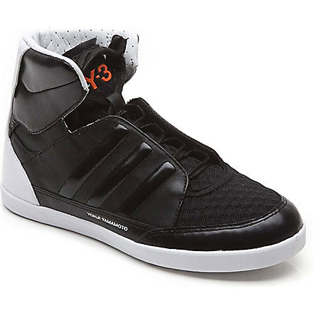 Y3 High-top trainers 7-9 years (Black