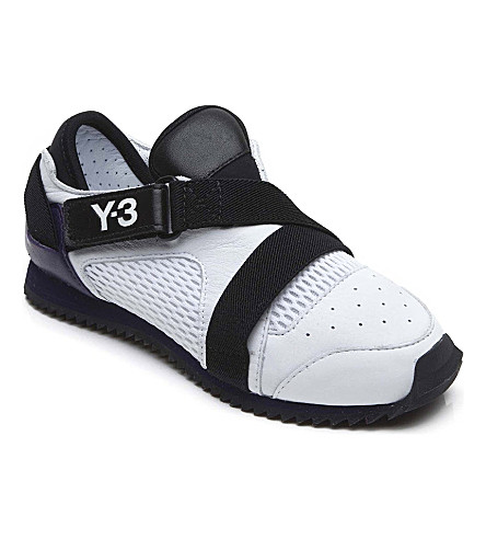 Y3 Decade trainers 7-9 years (White