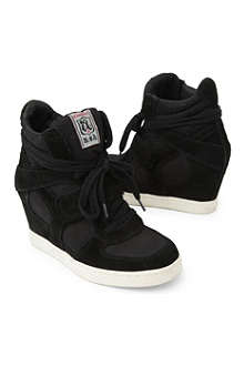 ASH Babe wedge high-top trainers 7-11 years
