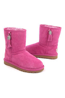 UGG UGG tassel boots UK 8 (kids)-UK 5 (adult)