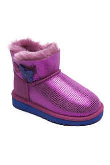 UGG Mini Bailey Button Lizard boots sizes UK 5 (kids)- UK 5 (adult)