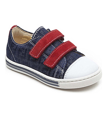 FENDI Denim velcro trainers 1-9 years (Denim