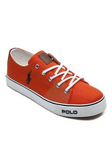 RALPH LAUREN Canvas trainers 9-12 years