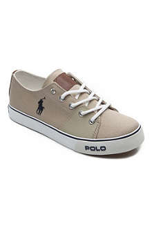 RALPH LAUREN Canvas trainers 6 months-12 years