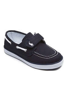 RALPH LAUREN Canvas boat shoes 3-8 years