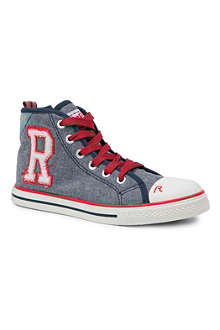 REPLAY High-top trainers 6-12 years
