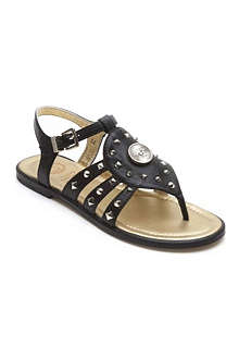 VERSACE Studded gladiator sandals 7-10 years