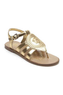 VERSACE Medusa gladiator sandals 7-12 years