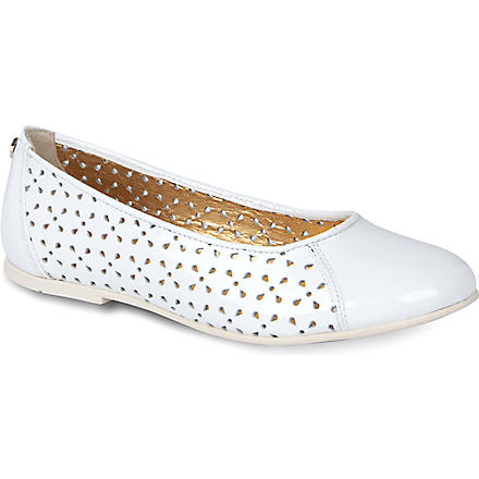VERSACE Cut-out pumps 7-10 years (White