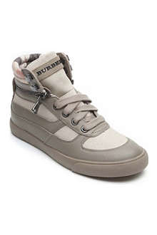 BURBERRY High-top trainers 6-10 years