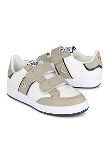ARMANI JUNIOR Leather double strap trainers 6-8 years