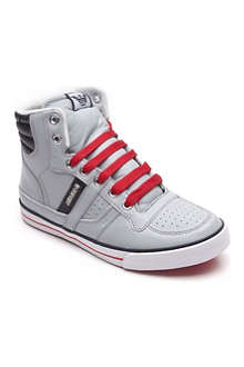 ARMANI JUNIOR Quilted high-top trainers 7-12 years