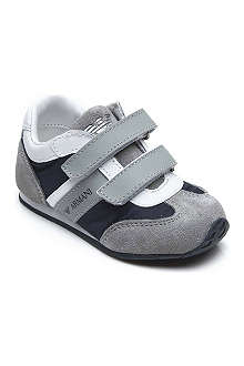 ARMANI JUNIOR Leather trainers 2-5 years
