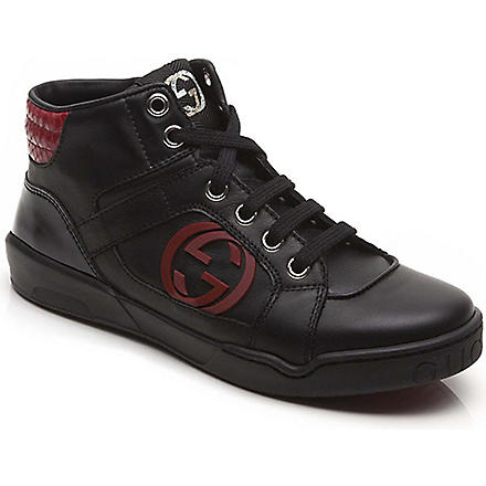 GUCCI High-top trainers 5-8 years (Black